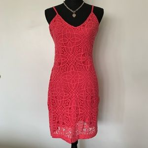 Anthropologie Vintage 80's style lace dress